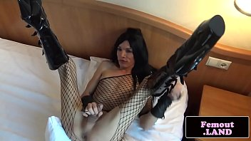 Boots, Boot, Lingerie, Femboy, Trap, Trapped