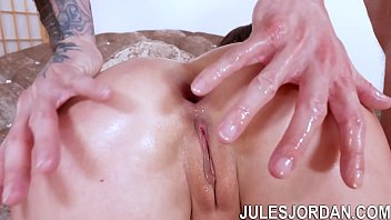 Angela white, Angela, Tits job, Jules jordan, Natural big tits, Double blow
