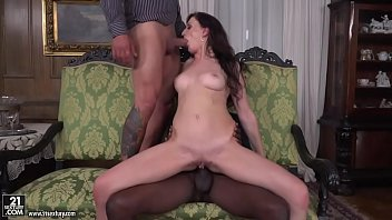 Monster, Monster bbc, Double blowjob, Threesomes, Monster big, Bbc double