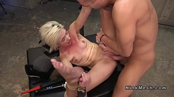 Pain, Deep throat, Gag, Submission, Tied fuck, Bdsm pain