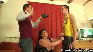 Mature, Mom threesome, Old granny, Fat granny, Old fat, Granny threesome