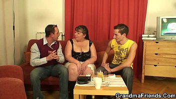 Mature, Mom threesome, Fat granny, Old granny, Old fat, Granny threesome