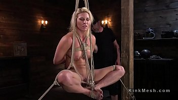 Punishment, Rope, Hogtied, Painful, Tied fuck, Gagged