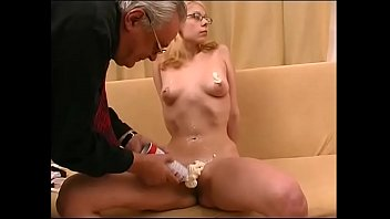 Aunt, Granny anal, Younger, Granpa, Aunt anal, Old threesome