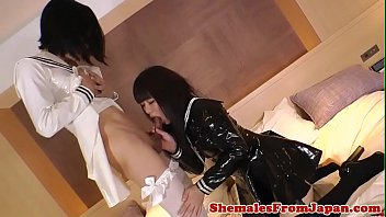 Japanese, Latex, Japanese shemale, Rimjob, Japan teen, Japan shemale