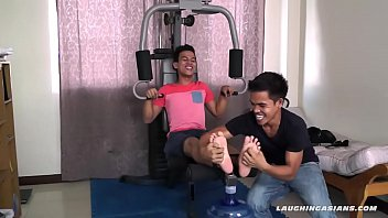 Asian gay, Asian feet, Tickling, Asian boy, Asian bondage, Gay feet