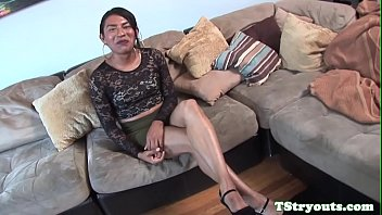 Interview, Audition, Strip tease, Ebony shemale, Shemale casting, Ebony amateur