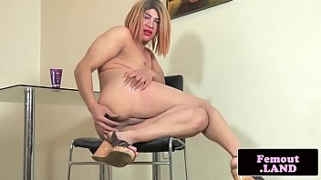 Tranny, Chubby solo, Trapped, Chubby tranny, Chubby shemale, Solo chubby