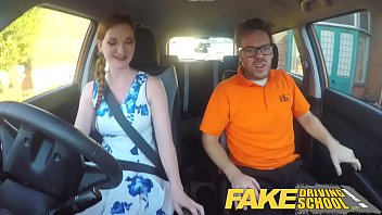 Glasses, Funny, Redhead, Pale, Drive, Driving school