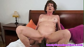 Saggy, Cougar, Interracial granny, Busty granny, Granny interracial, Granny masturbation