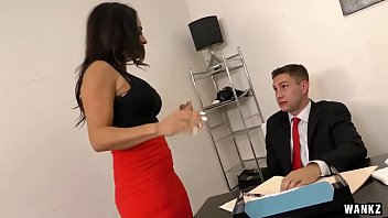 Milf boss, Big boss, Office milf, Claudia, Big boobs office, Raunchy