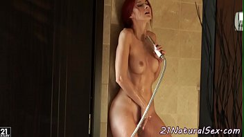 Under, Beauti, Beautiful model, Shower masturbation, Beautiful romantic, Redhead solo