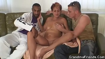 Black granny, Mom black, Granny black, She, Granny threesome, Threesome mom