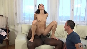 Husband, Training, In front of husband, Real wife, Cuckold wife, Black wife