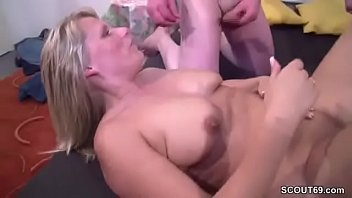 Real mom, Mom threesome, German mature, German mom, German milf, Real mother