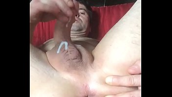 Toys, Gay toy, Contraction, Cum feet, Anal masturbation, Contractions