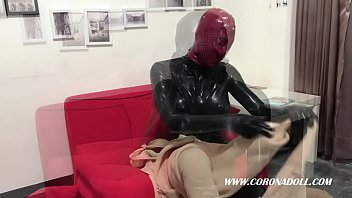 Kigurumi, Rubber, Nylon, High, Mask, Nylons
