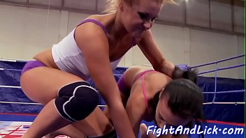 Babes, Wrestling, Catfight, Box, Ring, Sexfight
