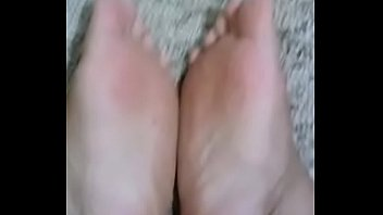 Footjob, Sole, Mature foot, 2018, Foot sole, Mature footjob