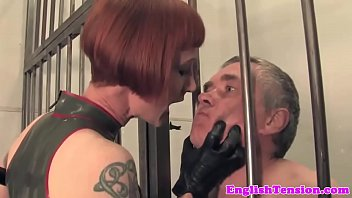 Latex, Jail, Latex bondage, Submissive, Latex mistress, Cp
