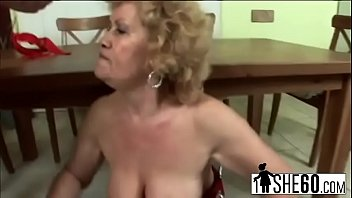 Saggy, Big clit, Saggy tits, Hairy mature, Hairy granny, Stockings mom