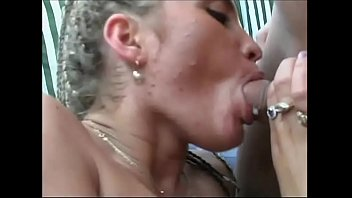 Busty, Mouth cum, Milf facial
