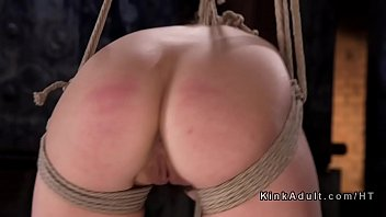 Spanking, Caning, Pain, Tied, Rope, Caned