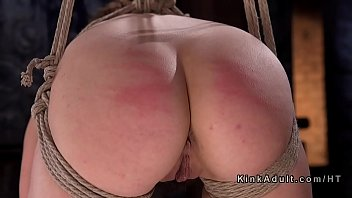 Spanking, Caning, Pain, Tied, Rope, Hogtied