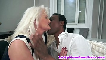 Saggy, Grandmother, Granny interracial, Swallowing cum, Interracial granny, Gilf