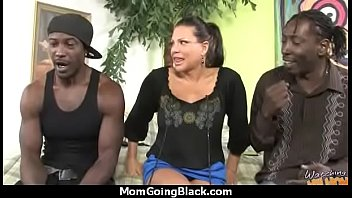 Milf, Black moms, Big cock mom