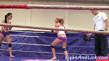 Fight, Wrestling, Boxing, Fighting, Ring, Lesbian fight