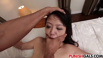 Deep throat, Asian bdsm, Spanked, Miko, Asian spanking, Asian spank