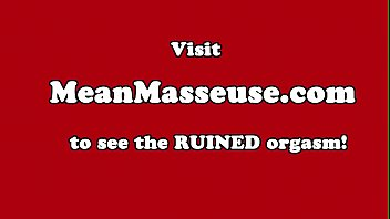 Massage, Cbt, Ruined, Ruin, Massage handjob, Object