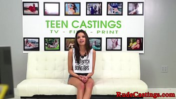 Brutal, Choke, Teen blowjob, Casting teen, Castings, Choked