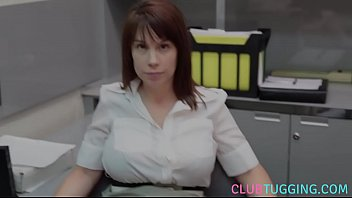 Office, Beautiful mom, Beauty mom, Office milf, Handjob mom, Office mom