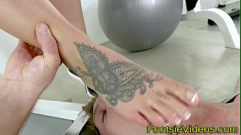 Foot fetish, Footjob cumshot, Foot tattoo, Tattoo foot