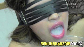 Cum swallow, Mouthful, Swallow load, Gangbang swallow, Gangbang cum, Bukkake swallow
