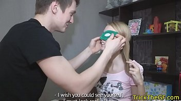 Russian, Cuckold, Tricked, Blindfold, Revenge, Russian cuckold