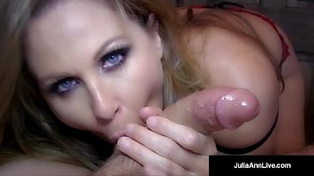 Julia, Anne, Julia ann milf, Face pov, Mature couples, Cumshot face