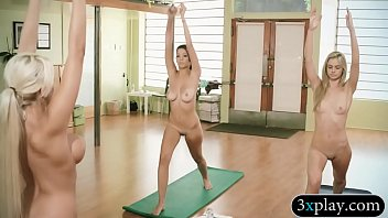 Trainer, Naked yoga, Yoga ass, Yoga big tits