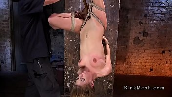Slave, Caning, Rope, Caned, Hogtied, Roped