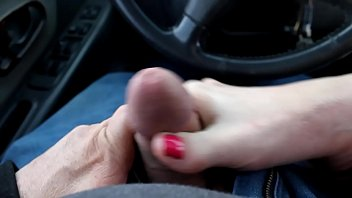 Car handjob, Milf footjob, Car blowjob, Car footjob, Footjob pov, Cars