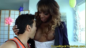 Black shemale, Black tranny, Ebony shemale, Ts anal, Doggystyle anal, Shemale facial