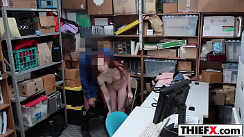 Office, Teen thief, Teen punish, Massive cock, Offices, Punishing