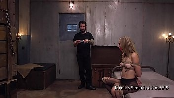 Painful, Bdsm squirt, Gagged, Threesome slave, Slave fuck, Threesome bdsm