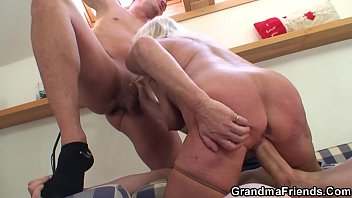 Mother, Old mom, Granny threesome, Old mother, Blonde granny, Granny riding