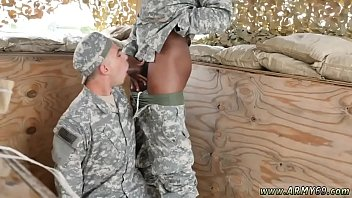 First blowjob, Army gay, Outdoor group