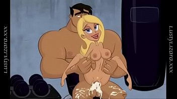 Cartoon, Creampie girl, Creampie blonde