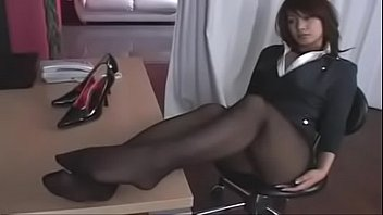 Japan, Japanese office, Japanese pantyhose, Japanese foot, Shoes, Skirt