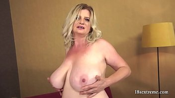 Big tits, Saggy, Saggy tits, Chubby milf, Big saggy tits, Chubby blonde